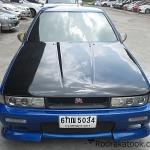รถราคาถูก รถเก๋งมือสอง Nissan Cefiro (นิสสัน เซอร์ฟิโร่) สีน้ำเงิน ปี 1992 ขนาดเครื่อง 3.0 Twincam 24 วาวส์ เกียร์ A/T #UC149