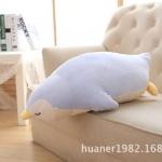 ตุ๊กตาเพนกวิน รุ่นใยนิ่ม เนื้อใยสังเคราะห์รุ่นใหม่ ขนาดวัดจากจมูก-ปลายหาง 70cm