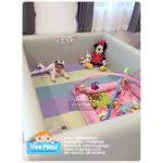 คอกกั้นเด็ก คอกกันกระแทก Viva Playz สี pastel น้อง Lita