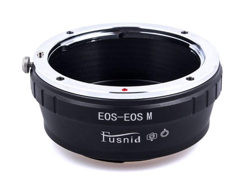EOS-EOSM Mount Adapter Canon EOS EF EF-S Lens to Canon EOS M EF-M Mount Camera