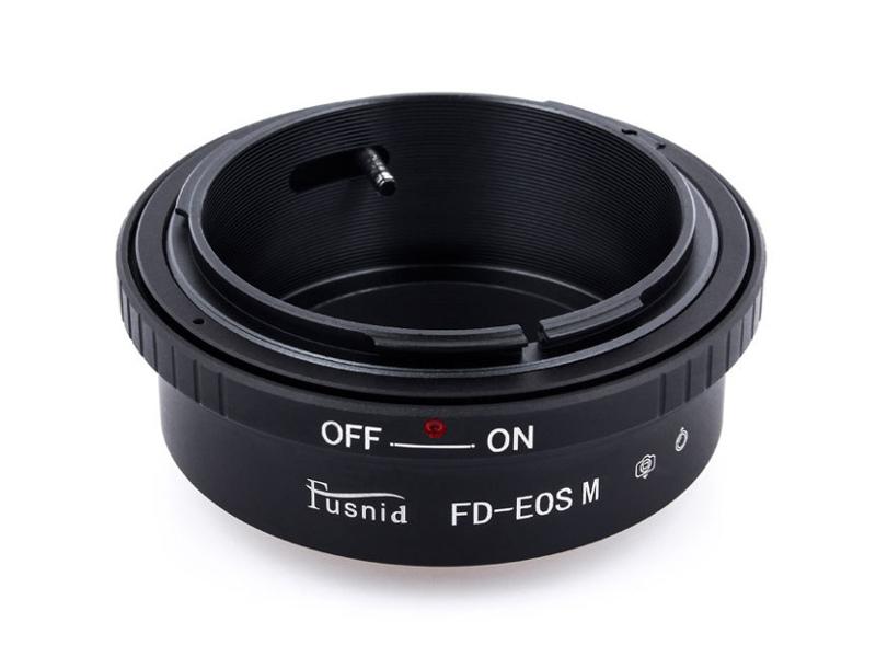 FD-EOSM FD-EFM Lens Mount Adapter Canon FD FL Lens to Canon EOS M EF-M Mount Camera