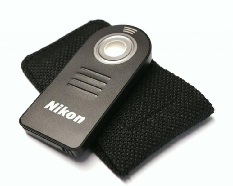 Nikon Infrared Wireless Remote รีโมทไร้สาย เทียบเท่า Nikon ML-L3 + ซองใส่รีโมท