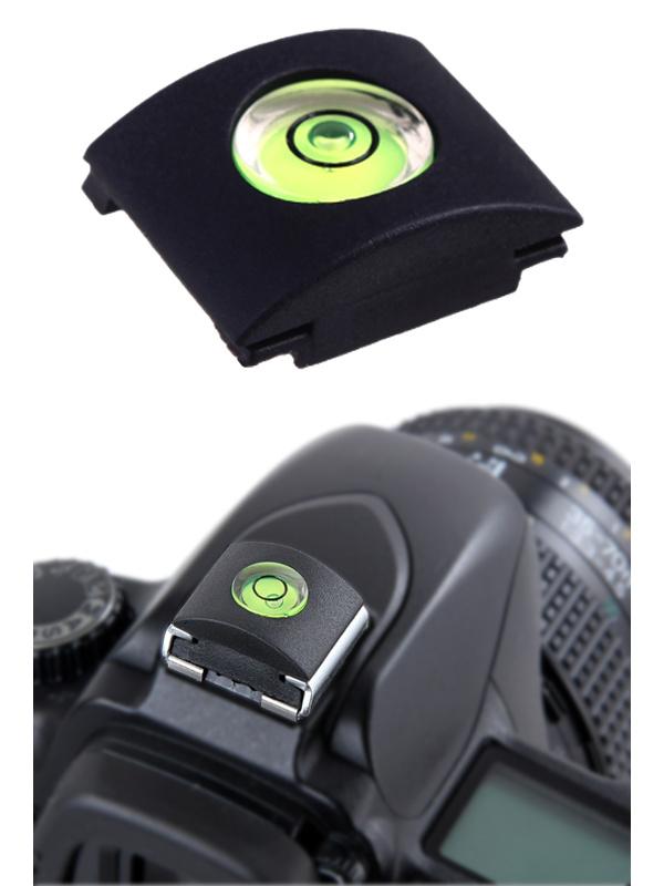 Hot Shoe Cover แบบมีระดับน้ำ ที่ปิดฮอทชู ช่องเสียบแฟลช Canon Nikon Olympus Panasonic Sony