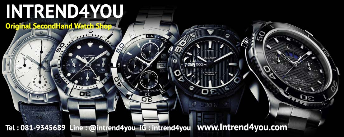 tag heuer มือสอง ของแท้ เน้นคุณภาพราคาไม่แพง by Intrend4you