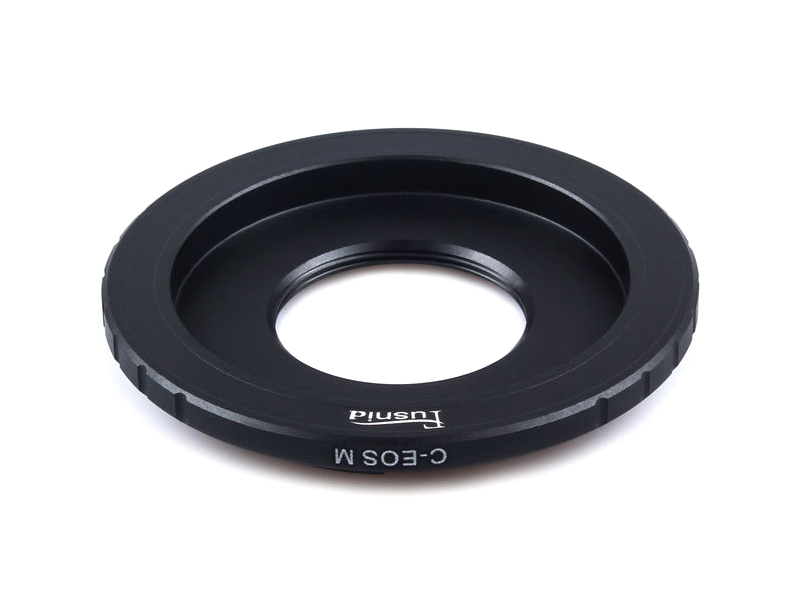 C-EOSM C-EFM Lens Mount Adapter CCTV C Mount Lens to Canon EOS M EF-M Mount Camera