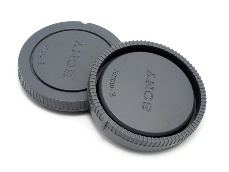 Sony Rear Lens Cap + Body Cap ฝาปิดท้ายเลนส์ ฝาปิดบอดี้ for โซนี่ NEX E-Mount