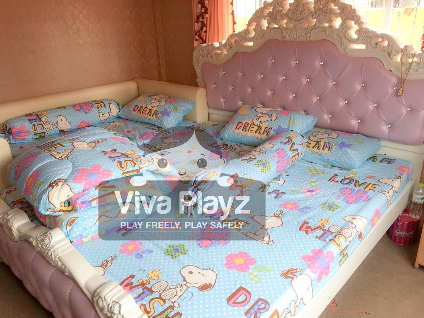 คอกต่อเตียง Viva Playz ส่งไปจังหวัดอุดรธานี