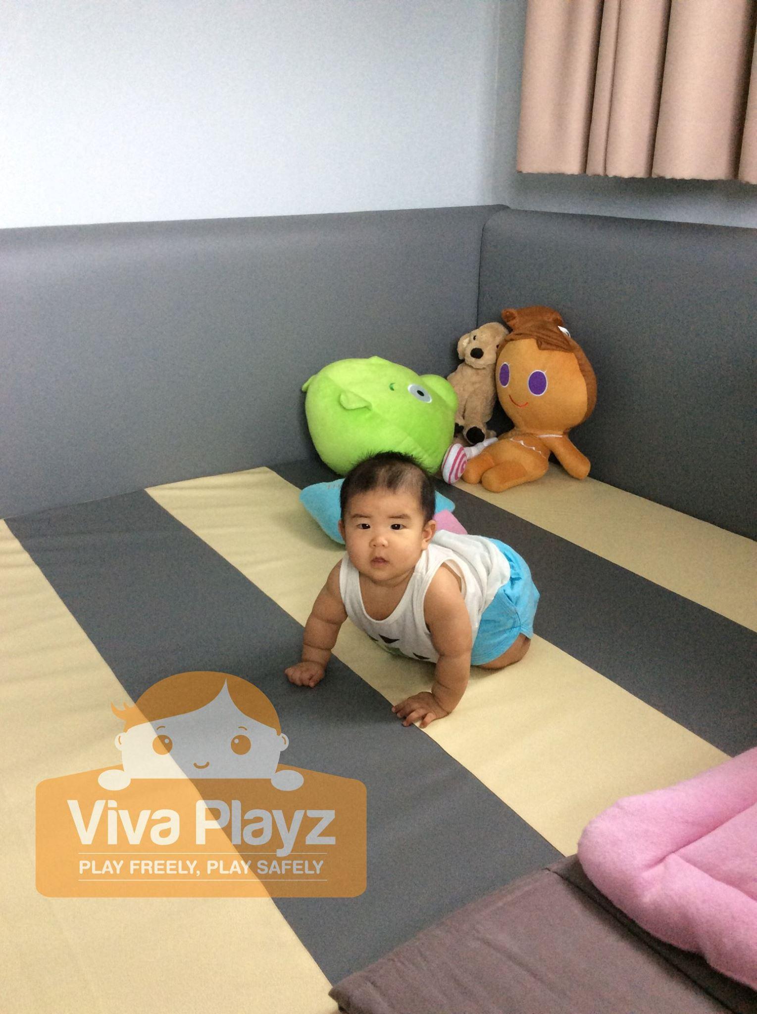 คอกต่อเตียง คอกกั้นเด็ก Viva Playz ขอบคุณลูกค้ามากๆค่ะ