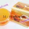 ครีมขมิ้นผสมน้ำผึ้ง Happy ครีมแก้สิว ครีมหน้าใส กล่องสีส้ม เนื้อขมิ้นแท้ ขายส่งถูก Whitening Cream