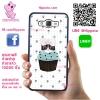 เคส ซัมซุง J7 2015 แมวคัพเค้ก เคสน่ารักๆ เคสโทรศัพท์ เคสมือถือ #1162