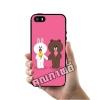 เคส ซัมซุง iPhone 5 5s SE บราวน์ โคนี่ กินไอติม เคสน่ารักๆ เคสโทรศัพท์ เคสมือถือ #1200