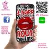 เคส ViVo Y53 ยางซิลิโคน ริมฝีปาก เคสสวย เคสโทรศัพท์ #1031
