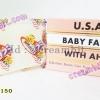 สบู่เบบี้เฟส สูตรต้นตำรับ ก้อนสีขาว แก้ฝ้า หน้าใส USA.BABY FACE WITH AHA