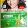 แชมพูย้อมผมดำ ซองสีเขียว สูตรโอลีฟออยส์ Suzana Hair Darkening Shampoo Natural Black แชมพูเปลี่ยนสีผมสีดำธรรมชาติ