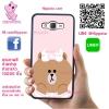 เคส ซัมซุง J5 2015 หมีบราวน์ ผูกโบว์ เคสน่ารักๆ เคสโทรศัพท์ เคสมือถือ #1191