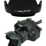 Canon Lens Hood ES-62 II Reversible ขนาด 52 mm. ทรงกลีบดอกไม้ for EF 50mm f/1.8