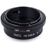 FD-EOSM FD-EFM Lens Mount Adapter Canon FD FL Lens to Canon EOS M EF-M Mount Camera