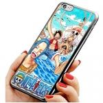 เคสไอโฟน 6 วันพีช กลุ่มโจรสลัดหมวกฟาง เคสโทรศัพท์ One Piece #2