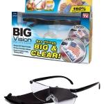 BIG VISION Glasses แว่นตาขยายไร้มือจับ กำลังขยาย 160%