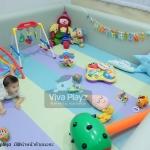 ขอบคุณคุณมิ้มนะคะ คอกกั้นเด็ก Viva Playz ขนาด 7ฟุต