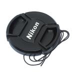 Nikon Lens Cap ฝาปิดหน้าเลนส์ นิคอน ขนาด 49 52 55 58 62 67 72 77 mm.