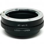 AF-M4/3 MA-M4/3 Adapter ปรับรูรับแสงได้ Sony Minolta A Mount Lens to Micro 4/3 Camera
