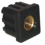 PLUG M16X2 FOR SQUARE TUBE 38X1.5