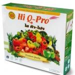 Hi Q-Pro ไฮคิว-โปร ดีท็อกซ์ลําไส้ ช่วยขับล้างสารพิษ ขนาด 12 ซอง ส่งฟรี EMS