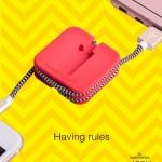 Hoco Cable U4 for iPhone สายชาร์จม้วนเก็บได้ สำหรับไอโฟน