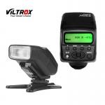 Viltrox JY-610II Mini LCD Speedlite Camera Flash Light for Universal Hot Shoe