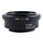 FD-NEX Lens Mount Adapter Canon FD FL Lens to Sony NEX E FE Mount Camera