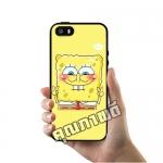 เคส ซัมซุง iPhone 5 5s SE สปองบ๊อบ สู้ตาย เคสน่ารักๆ เคสโทรศัพท์ เคสมือถือ #1017