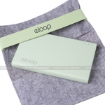 Power Bank 11000 mAh ELOOP E12 สีเขียว