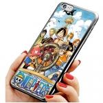 เคสไอโฟน 6 วันพีช กลุ่มโจรสลัดหมวกฟาง เคสโทรศัพท์ One Piece