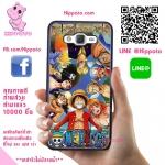 เคสวันพีช ลูฟี่ กลุ่มหมวกฟาง One Piece เคสโทรศัพท์ ซัมซุง J5 2016 #1007