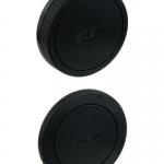 Canon EOS-M ฝาปิดท้ายเลนส์ Rear Lens Cap + ฝาปิดบอดี้ Body Cap