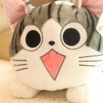 ตุ๊กตาแมวจี้ของแท้ วัดจากหัว-หาง25cm ไซส์S