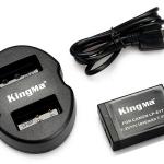 Kingma Canon Battery LP-E17 + Kingma USB Dual Battery Charger แท่นชาร์จแบ็ตเตอรี่ (แถมฟรีกล่องใส่แบตเตอรี่)