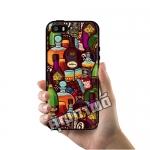 เคส ซัมซุง iPhone 5 5s SE ขวดเหล้า สวยๆ เคสสวย เคสโทรศัพท์ #1026