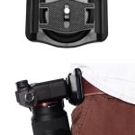 Quick Release Camera Waist Belt Buckle สำหรับแขวนห้อยกล้องกับเข็มขัด