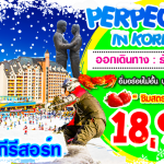 PERFECT SKI IN KOREA ธ.ค.59 - ม.ค. 60