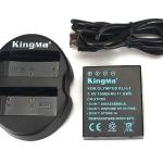 Kingma Olympus Battery BLH-1 + Kingma USB Dual Battery Charger แท่นชาร์จแบ็ตเตอรี่