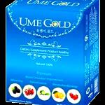 UME GOLD ล้างสารพิษและไขมันอุดตันในหลอดเลือด (1 กล่องมี 10 ซอง) ส่งฟรี ems