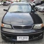 รถราคาถูก รถเก๋งมือสอง Nissan Cefiro VQ 20 (นิสสัน เซอร์ฟิโร่) สีดำ ปี 2001 ขนาดเครื่อง 2000 CC. V6 Twincam 24 วาวส์ เกียร์ A/T #UC126