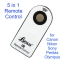 Lynca 5 in 1 Universal Infrared Wireless Remote Control for Canon Nikon Sony Olympus Pentax Camera thumbnail 1