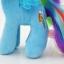 ตุ๊กตาม้าโพนี่สีฟ้า รุ่นเส้นผมถักเปียได้ ขนาดวัดจากเท้า-หัว25cm line:stevie_b thumbnail 5