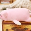ตุ๊กตาหมู รุ่นขนนุ่มพิเศษ เนื้อใยสังเคราะห์รุ่นใหม่ ขนาดวัดจากปลายจมูก-ปลายขา50cm thumbnail 6