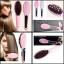 แปรงหวีผมไฟฟ้า แปรงผมตรง Fast Hair Straightener รุ่น HQT-906 (Pink) thumbnail 3
