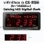 นาฬิกาดิจิตอล รุ่น CX-2158 (สีดำ-ไฟLEDสีแดง) Caixing LED Digital Clock thumbnail 3
