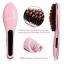 แปรงหวีผมไฟฟ้า แปรงผมตรง Fast Hair Straightener รุ่น HQT-906 (Pink) thumbnail 6